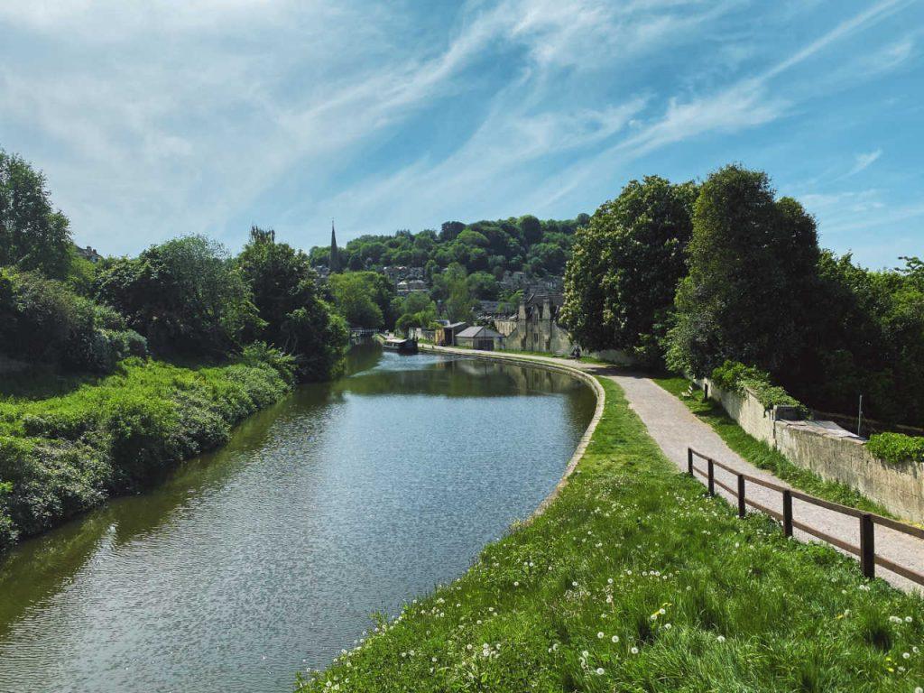 Web Design Kennet & Avon Canal, Bath.