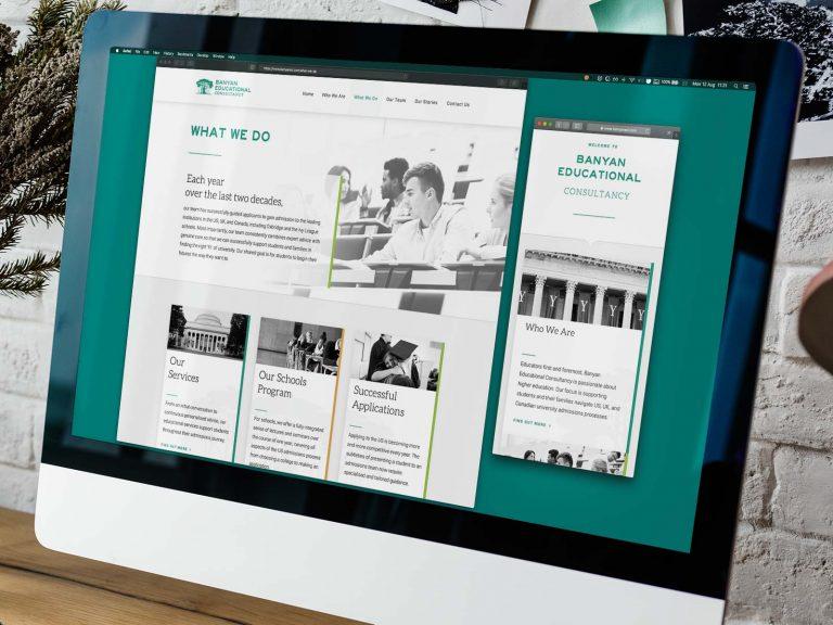 Banyan Education Website 3 | DW Multimedia