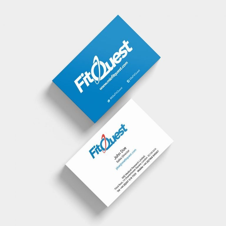 FitQuest Business Cards