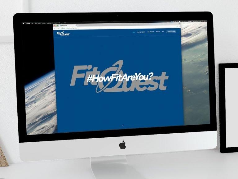 MIE FitQuest Website 1 | DW Multimedia