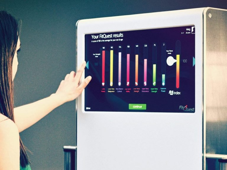 Fitness Device UI/UX 1 | DW Multimedia