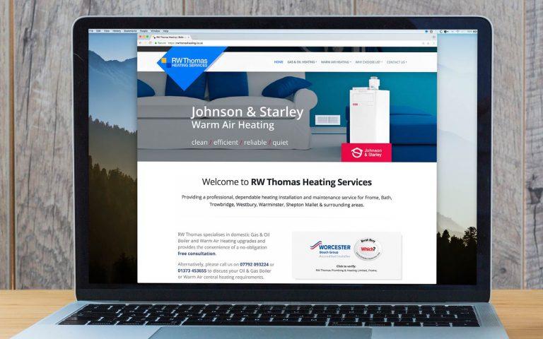 R.W. Thomas Heating Website 6   DW Multimedia