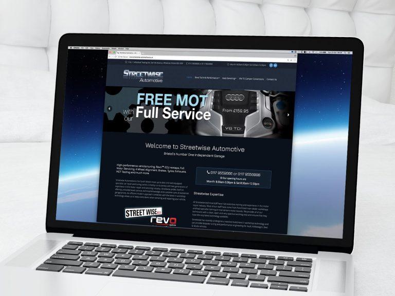 Streetwise Automotive Website 1 | DW Multimedia