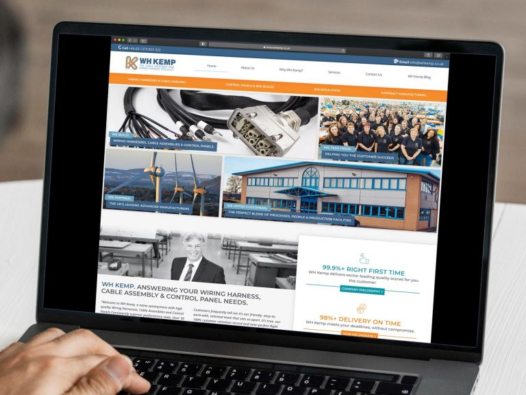 WH Kemp Website 2021