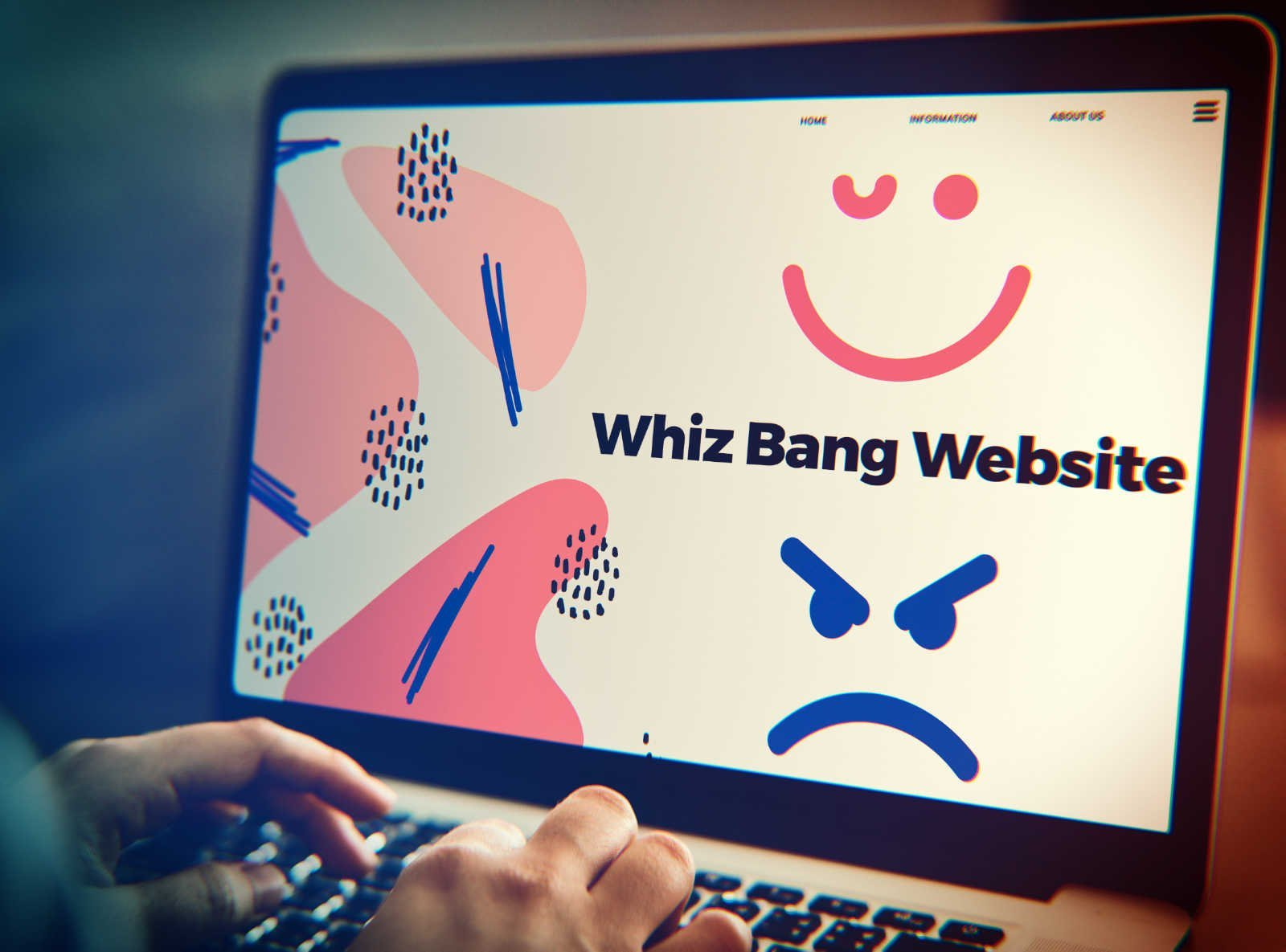 Why your great looking website may be causing you problems - Blog